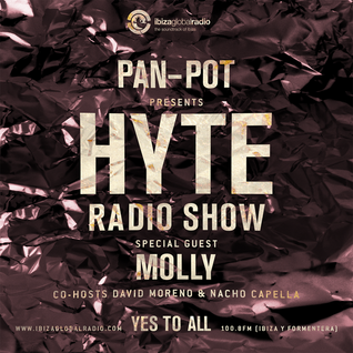 Pan-Pot - Hyte on Ibiza Global Radio Feat. Molly - August 17