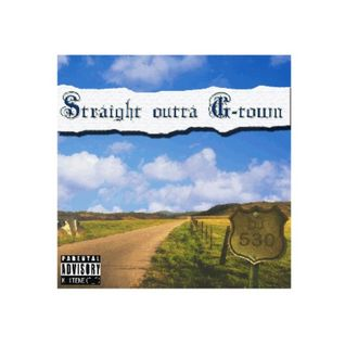 Straight Outta G-town (Throwback EURO-RAP&WEST COAST Mixtape -2008-) / DJ 530