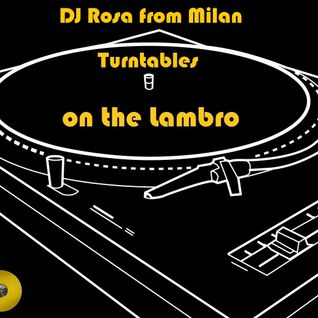DJ Rosa from Milan - Turntables on the Lambro