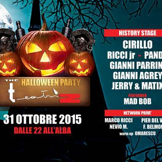 Dj Panda The Teatriz 31 Ottobre 2015 Halloween redone dj set