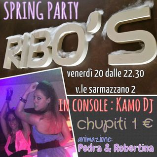 Kamo DJ @ Ribo's Cafè(Part1) - 20.03.2015 [Sarmazzano - Milan, IT]