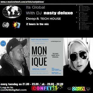 Global Session - Nasty deluxe, Monique Clara Klebsattel - Confetti Digital UK - London