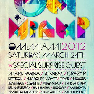 Grove Armada - Om: Miami 2012 at Villa 221, WMC 2012 (24-03-2012)