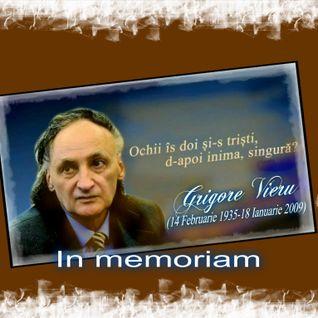 O lacrima pentru Grigore Vieru ...