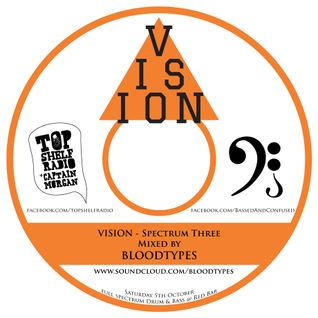 VISION: Spectrum Three - Mixed by Bloodtypes