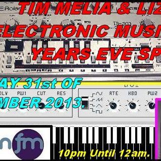 Tim Melia & Liz Tena - New Years Eve 2013 Special - 103.2 Preston fm