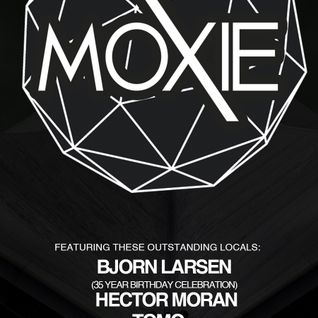 Bjorn Larsen at Moxie, May 7th