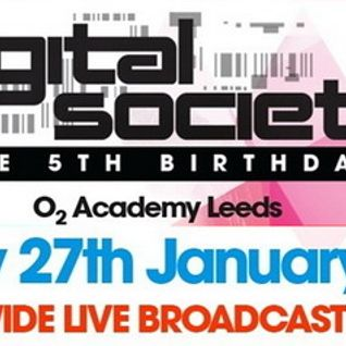 Simon Patterson - Live @ Digital Society 5th Birthday (O2 Academy in Leeds, UK) - 27.01.2012