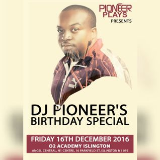 DJ PIONEER BDAY BASH 2016 (Deep House Promo Mix)