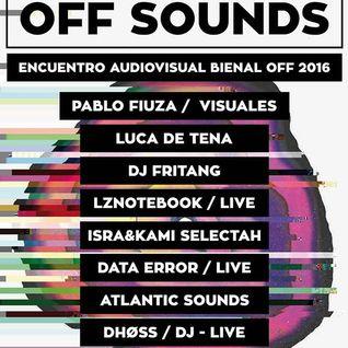 """""""Bienal OFF Sounds"""" event - ATLANTIC SOUNDS (Karlos Mk + Tonono) set - Arrecife, Lanzarote"""