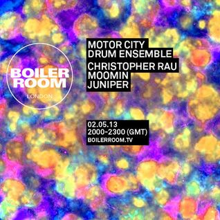 Motor City Drum Ensemble 55 min Boiler Room Mix