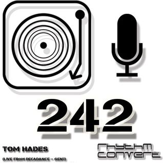 Techno Music | Rhythm Converted Podcast 242 with Tom Hades (Live at Girafe Sauvage - Gent)