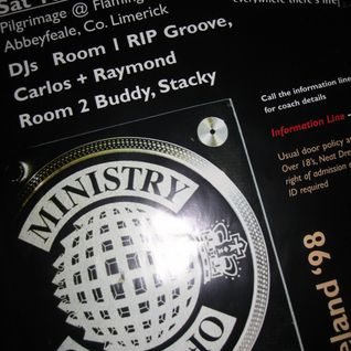 STACKY@ MINISTRY OF SOUND TOUR IRELAND Abbeyfeale 1998