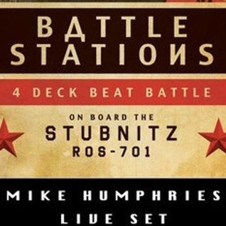 Mike Humphries Live Set Aboard the MS Stubnitz December 15th, 2012 in London's Royal Docks