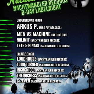 Loudhouse@Nachtwandler Records B-Day Lablenight 22.2.2013
