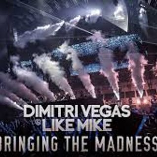 Dimitri Vegas & Like Mike @ Bringing The Madness 3.0 (Antwerp, Belgium) 2015-12-19