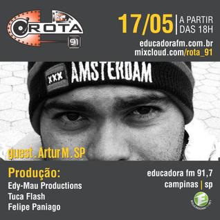 Rota 91 - 17/05/14 - Educadora FM 91,7