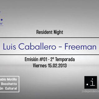 Pulsar 15.02 - Resident Freeman (DjSet)