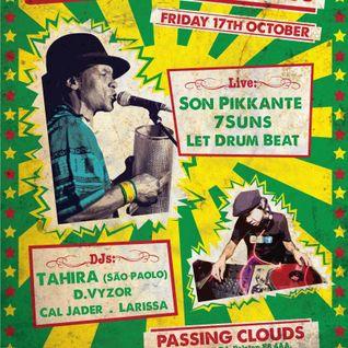 Tahira's Funky Brazil mixtape
