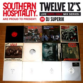 Twelve 12's Live Vinyl Mix: 28 - NWA special! - DJ Superix