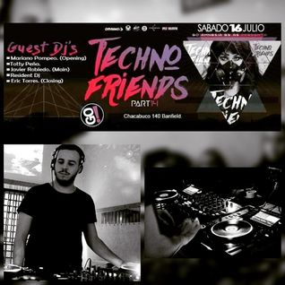 WarmUp TechnoFriends14 Amnesia Go! Banfield by Mariano Pompeo