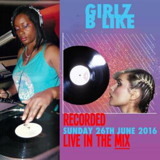 Girlz B Like - Sundayl Showers: Marcia DaVinylMC - Pt. 3 - June 26th 2016 at The Book Club