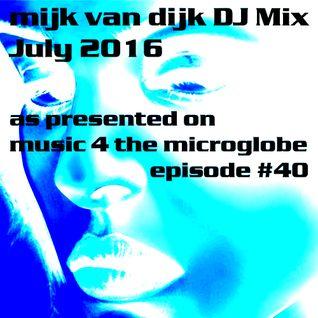Mijk van Dijk DJ Mix July 2016