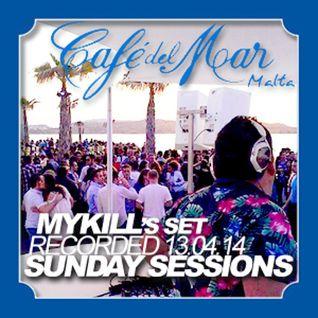 * Cafe' Del Mar Sunday Sessions Mykill Set Summer 2014 *