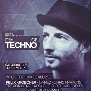 Nicodelux Live @ Deal of Techno Chris Hawkins B-Day 14.12.2013
