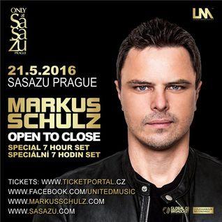 Markus Schulz - Live @ Watch the World Release Party, SaSaZu (Prague) - 21.05.2016