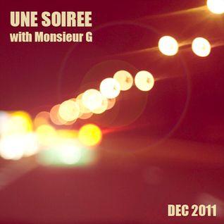 Une Soirée with Monsieur G #December 2011#