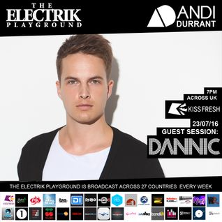 Electrik Playground 23/7/16 inc. Dannic Guest Session