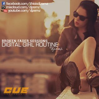 Digital Girl Routine by djzemz
