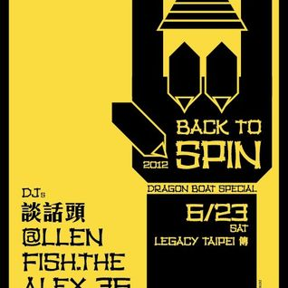 Live @ Back to Spin,Taipei 23/06/2012