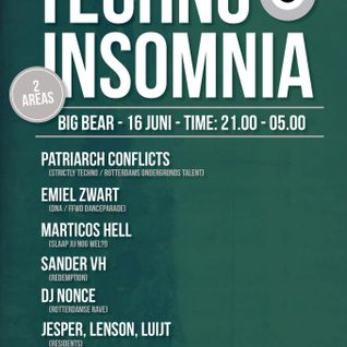 Marticos Hell & Damy - Techno insomnia