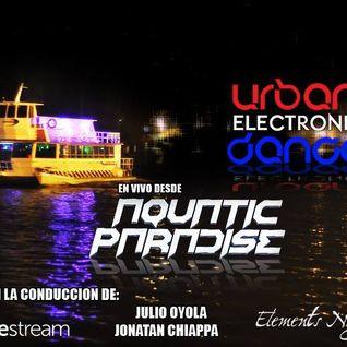 Urban Electronic Dance vie 22/5 transmitiendo #EnVivo desde el Río de la Plata el Aquatic Paradise