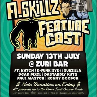 A.Skillz & Featurecast Support Set Live Zuri Bar Brisbane