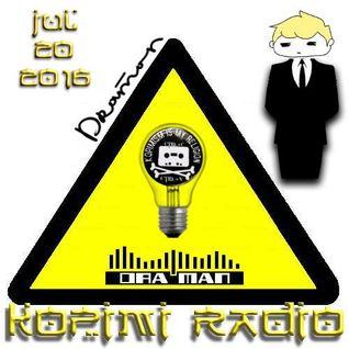 Kopimi Radio @mazanga 07 20 16 DRA'man Special