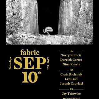 Derrick Carter @ Fabric London 10-09-2011