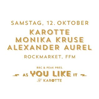 Monika Kruse B2B Alexander Aurel @ As You Like It, Frankfurt am Main 12.10.2013