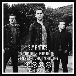Indie Rocks! 23rd August with Sly Antics