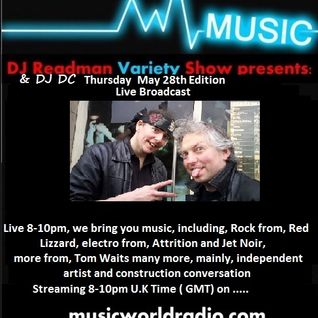 Dj Readman and DJ DC Radio Variety Show: Red Lizzard and songs comparisons theme