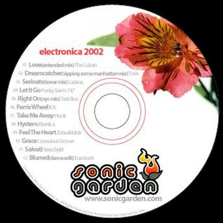 Sonic Garden Electronica 2002 Promo CD produced by We Are One Records