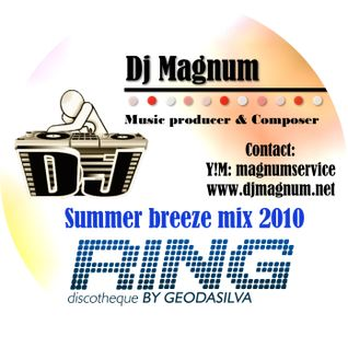Dj MaGnUm & Dj Flipper & Mc Johnny - Mix Live 2010 Disco Ring U TV