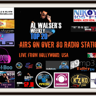 LIVE - From Hollywood - AL WALSER'S WEEKLY Top20 - November 7th 2014
