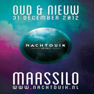 Marcel Dettmann b2b Ben Klock @ Nachtduik-Revelt-Oud&Nieuw - Maassilo Rotterdam -31.12.2012 - Part 1