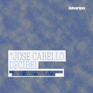 Jose Cabello (Live) @ Decibel - Mother Fuc**r - 16102015