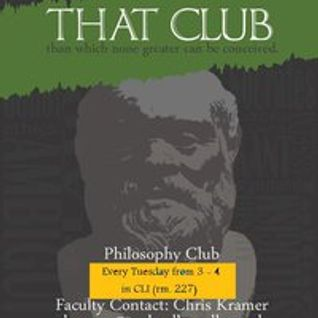 10/12/12 - Mental Gymnastics with That Club Than Which None Greater Can Be Conceived on WRCR
