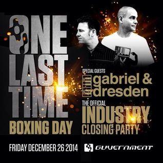 Gabriel & Dresden - Live @ The Guvernement (Toronto, Canada) - 26.12.2014