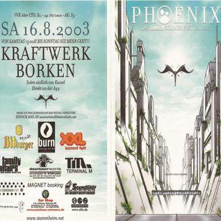Swayzak @ Stammheim Phoenix Festival - Kraftwerk Borken - 16.08.2003